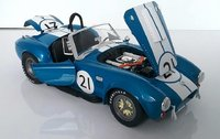 Shelby Cobra 427 S/C 65' #21 in 1:18 scale by Shelby Collectibles