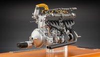 1938 Alfa Romeo 8C 2900 B Engine in Showcase by CMC in 1:18 Scale