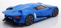 2008 GT by Citroen in Electric Blue Diecast Model in 1:18 Scale by Norev