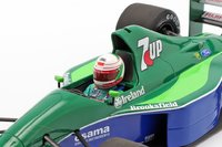 JORDAN FORD 191 - ANDREA DE CESARIS - 4TH PLACE CANADIAN GP in 1:18 scale by Minichamps1991