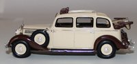 1936-1940 Mercedes Benz 260D Pullman Landaulet - Beige with Brown in 1:43 Scale by Esval Models