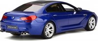 BMW M6 Gran Coupe Blue Resin Model in 1:18 Scale by GT Spirit