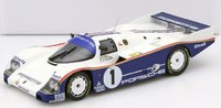 1986 Porsche 962 C Winner LeMans Closed Diecast Model in 1:18 Scale by Norev