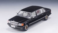 Mercedes-Benz W126 SGS Royal LWB Scale Model  in 1:43 Scale by GLM
