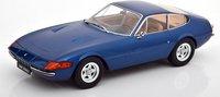 1971 Ferrari 365 GTB Daytona Coupe Blue in 1:18 scale by KK Diecast