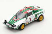 Lancia Stratos HF #1  Winner Rally Monte Carlo 1977 in 1:43 Scale by Spark