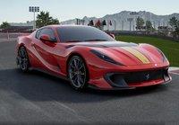 2021 Ferrari 812 Competizione Rosso Corsa 322 in 1:18 scale by BBR