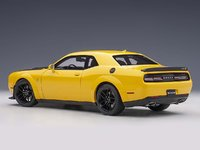 2018 Dodge Challenger Hellcat in Yellow Jacket in 1:18 Scale by AUTOart