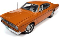 1970 Plymouth Duster 2  in 1:18 Scale by Auto World