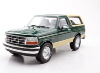 1992 Ford Bronco Green in 1:18 Scale by LS Collectibles