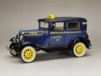 1931 Ford Model A Tudor Taxi in 1:18 scale by Sun Star