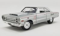 1967 Plymouth Belvedere Lightweight Silver Bullet in 1:18 Scale by Acme