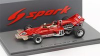 Lotus 72C Winner US GP 1970 Emerson Fittipaldi  Model Car in 1:43 Scale by Spark