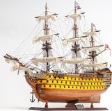 HMS Victory Painted in 1:8 Scale by Old Modern Handicrafts