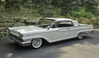 1959 Mercury Park Lane Closed Convertible Marble White in 1:18 Scale by Sun Star