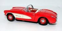 1957 Corvette in Venetian Red Diecast Model Car in 1:24 Scale by the Franklin Mint