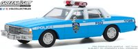 1990 Chevrolet Caprice NYC Police Dept (NYPD) in 1:43 scale by Greenlight