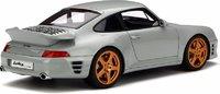 Porsche Ruf Turbo R in Grey Resin Model Car in 1:18 Scale by GT Spirit