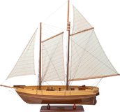 America, Small Yacht by Authentic Models