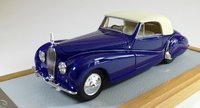 1938 Voisin C28 Cabriolet Saliot sn53002 Resin Model Car in 1:43 Scale by Ilario