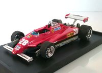 Ferrari 126C2 turbo 1982 G.P. San Marino #28 in 1:43 scale by Brumm