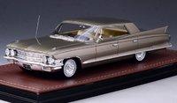 1962 Cadillac Sedan DeVille 4 window Victorian Gold Metallic in 1:43 Scale by GLM