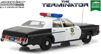 1977 Dodge Monaco Metropolitan Police The Terminator 1984 Model Car 1:18 Scale by Greenlight