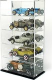 5 Diecast Scale Car Case - Mirror Back