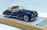 "1948 Delahaye 135 Cabriolet Figoni & Falaschi ""El Glaoui"" sn800954 Semi-open Top Resin Model Car in 1:43 Scale by Ilario"