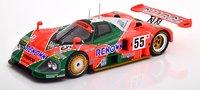 Mazda 787B #55 Winner 24h Lemans 1991 in 1:18 Scale by CMR