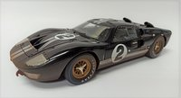 Ford GT40 '66 LeMans #2 After Race dirty version in 1:18 scale by Shelby Collectibles
