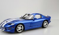 1996 Dodge Viper GTS Blue in 1:18 Scale by LS Collectibles