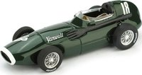 Vanwall F.1  G.P. Gran Bretagna Europa 1957 Moss - Brooks  #18 Model Car in 1:43 Scale by Brumm