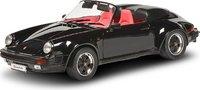 1989 Porsche 911 Speedster black in 1:12 scale by Schuco