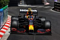 RED BULL RACING HONDA RB16B SERGIO PEREZ in 1:18 scale by Minichamps