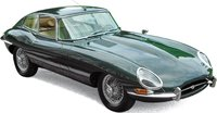 1962 JAGUAR E-TYPE COUPE IN 1:12 SCALE BY NOREV