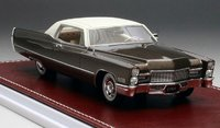 1968 Cadillac Coupe De Ville Brown Metallic in 1:43 Scale by GIM