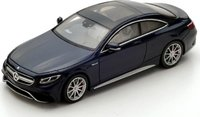 2016 Mercedes Benz AMG S 63 Coupe Resin Model Car in 1:43 Scale by Spark