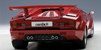 Lamborghini Countach 25th Anniversary Edition in Red by AUTOart in 1:18 Scale