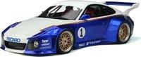 Porsche 911 #1 Blue in 1:18 Scale by GT Spirit