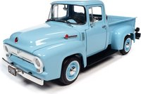 1956 Ford F100 Pickup Mild Custom in 1:18 scale by Auto World