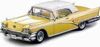 1958 Buick Limited Open Convertible in 1:18 Scale by Sunstar