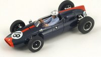 1961 Cooper T53, No.18 German GP, John Surtees Model Car in 1:43 Scale by Spark