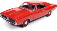 1969 Dodge Charger R/T Hardtop Class of '69 50th Anniversary Diecast Model in 1:18 Scale by Auto World