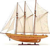Atlantic Yacht in 1:8 Scale by Old Modern Handicrafts