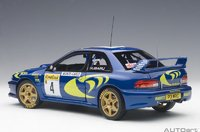 Subaru Impreza WRC 1997 #4 Monte Carlo Diecast Model in 1:18 Scale by AUTOart