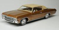 1970 Chevrolet Impala Custom Coupe in caramel bronze