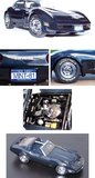 1981 Corvette Diecast Model RARE by The Franklin Mint in 1:24 Scale