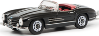 Mercedes Benz 300SLRoadster in Black Diecast Model Car in 1:43 Scale by Schuco