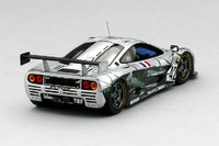 1995 McLaren F1 GTR #42 Societe BBA Competition Le Mans 24Hr Model Car in 1:43 Scale by Truescale Miniatures